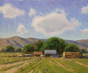 Dan Young, Summer Days, oil, 10 x 12.