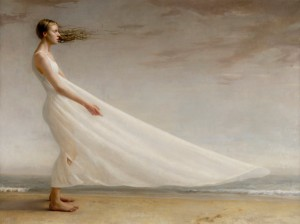 Zoey Frank, Sail, oil, 54 x 72.