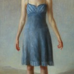 Zoey Frank, Song, oil, 72 x 36.