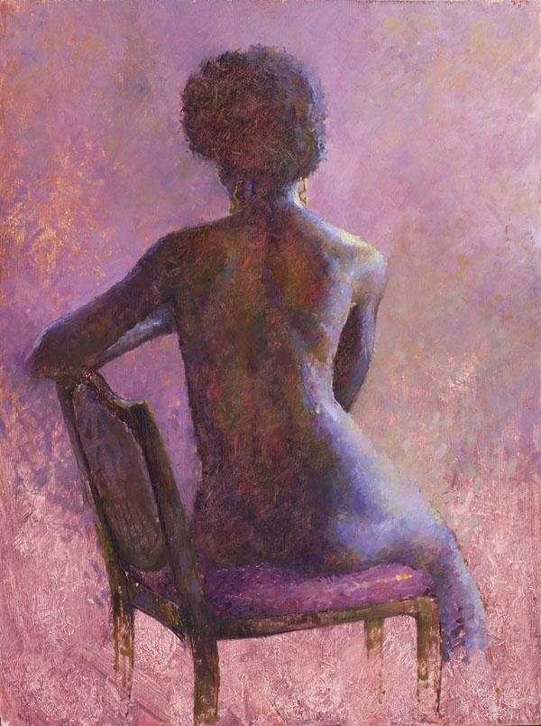 Miguel Malagon, Aleisha, oil, 16 x 12.