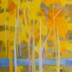 Marshall Noice, Aspen, Rio Brazos, oil, 70 x 46.