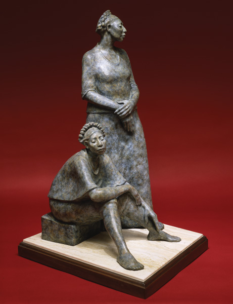 Shirley Thomson-Smith, Femininas, bronze, h45.