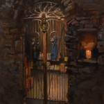 John P. Lasater IV, Cellar Door, oil, 24 x 20.