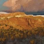 Len Chmiel, Weatherworn, Big Bend Park, oil, 28 x 30.