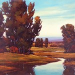 Gregory Stocks | City Creek, oil, 60 x 96.