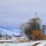 Josh Clare, December Harmony, oil, 12 x 20.