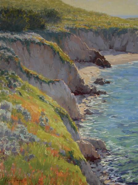 Kathleen Dunphy, Garapatta Spring, oil, 24 x 18.