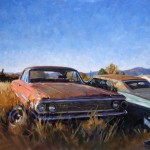 Timothy Horn, Galaxy Far, Far Away, oil, 24 x 30.