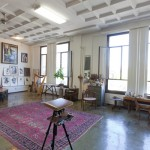 Joseph Todorovitch's art studio in Pomona, CA.
