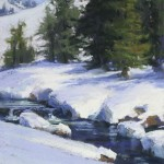 Kim Lordier, A Fresh Coat | Pastel Plein-Air Painter