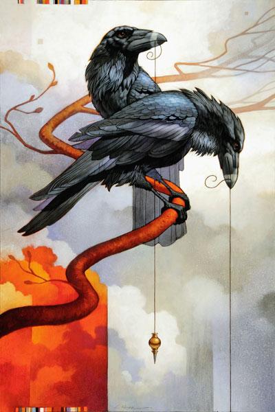Sorcerer's Apprentice, oil, 48 x 32.
