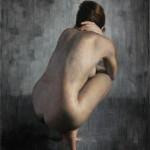 Jaime Longa, Remorse, oil, 36 x 24.