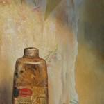 Jaime Longa, Transience, oil, 17 x 8.