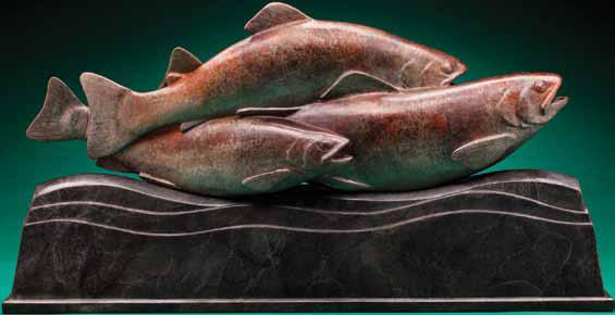 Meet modern sculpture artist Steve Kestrel.