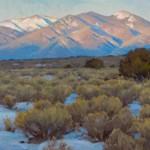 Chris Morel, Closing Down, oil, 16 x 32.