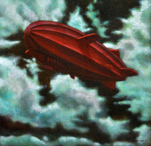 Tammi Otis, Alternate Flight Plan, oil, 12 x 12.