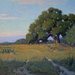Noe Perez, Evening Colors, oil, 20 x 30.