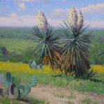 Noe Perez, Spring Yucca, oil, 30 x 24.