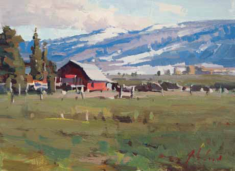 This FREE download is filled with info on the best contemporary plein air artists to collect.