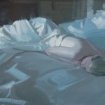 Robert Lemler | Resting, oil, 14 x 18.