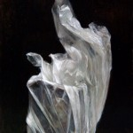 Wrapped Pewter Pitcher, oil, 8 x 6.