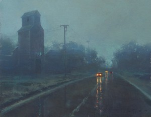 Brent Cotton, Spring Rain, oil painting