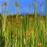 Elsa Sroka, A Feeling of Summer, oil, 8 x 5.