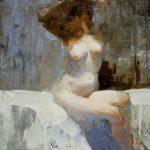 Terry Miura, Memories Return, oil, 20 x 16.