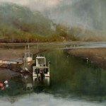 Jackson Lain, Tide Out #3, oil, 24 x 36.