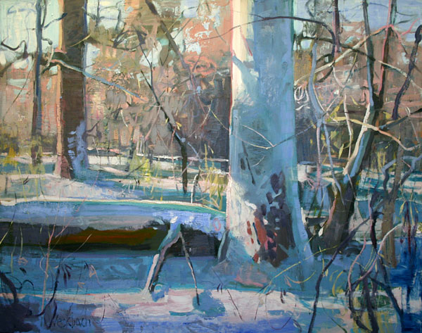 Winter, oil, 50 x 60.